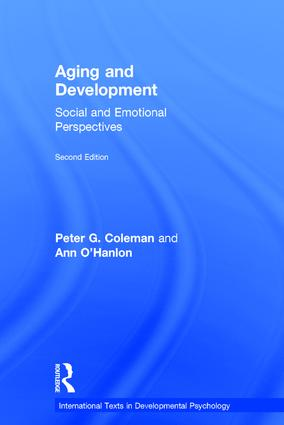 Aging and Development: Social and Emotional Perspectives book cover