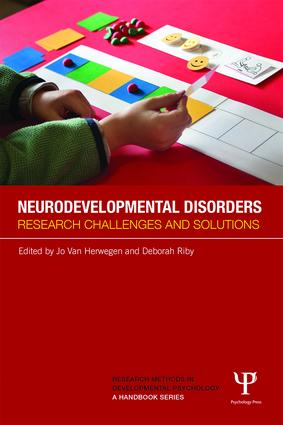 Neurodevelopmental Disorders: Research challenges and solutions book cover