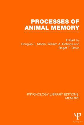 Processes of Animal Memory (PLE: Memory) (Hardback) book cover
