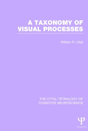 A Taxonomy of Visual Processes (Hardback) book cover