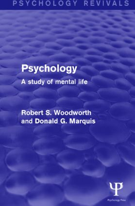 Psychology (Psychology Revivals): A Study of Mental Life (e-Book) book cover
