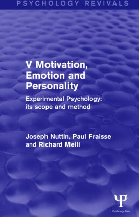 motivation and emotion psychology