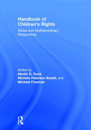 Handbook of Children's Rights: Global and Multidisciplinary Perspectives book cover