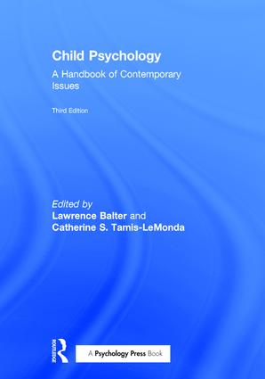 Child Psychology: A Handbook of Contemporary Issues book cover