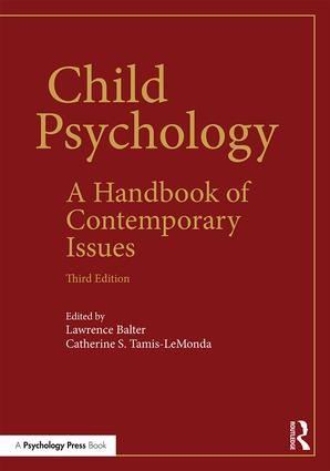 Child Psychology: A Handbook of Contemporary Issues, 3rd Edition (Paperback) book cover