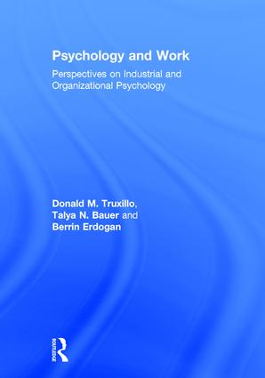 Psychology and Work: Perspectives on Industrial and Organizational Psychology book cover