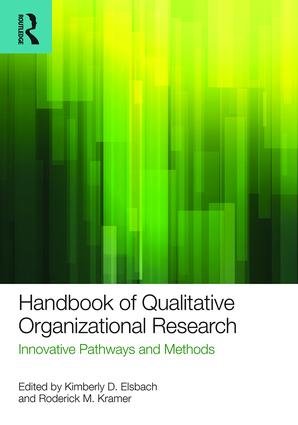 Handbook of Qualitative Organizational Research: Innovative Pathways and Methods (Paperback) book cover
