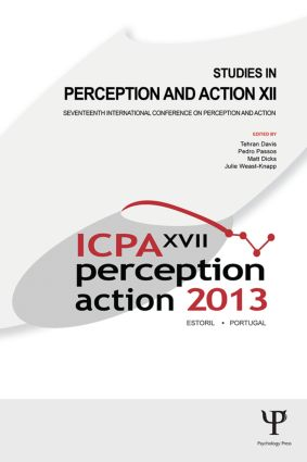 Studies in Perception and Action XII: Seventeenth International Conference on Perception and Action (Paperback) book cover