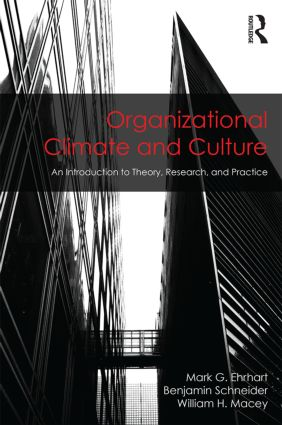 Organizational Climate and Culture: An Introduction to Theory, Research, and Practice book cover