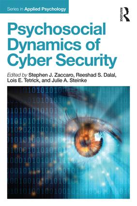Psychosocial Dynamics of Cyber Security book cover