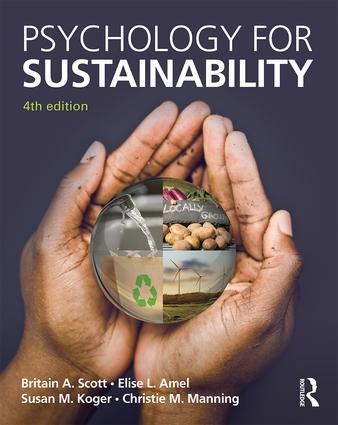 Psychology for Sustainability: 4th Edition book cover