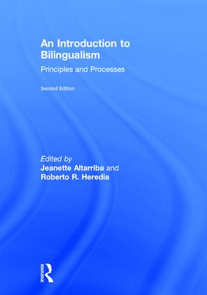 An Introduction to Bilingualism: Principles and Processes book cover