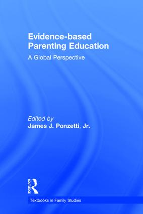 Evidence-based Parenting Education: A Global Perspective book cover