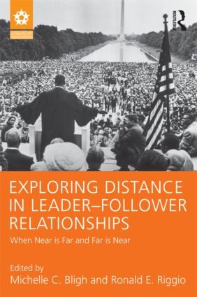 Exploring Distance in Leader-Follower Relationships: When Near is Far and Far is Near (Hardback) book cover