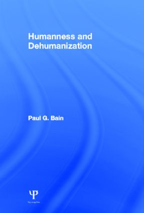 Humanness and Dehumanization (Hardback) book cover