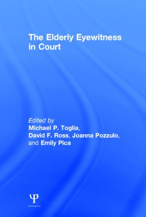 The Elderly Eyewitness in Court (Hardback) book cover