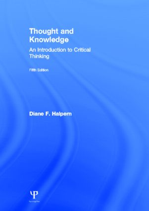 Thought and Knowledge: An Introduction to Critical Thinking, 5th Edition (Hardback) book cover