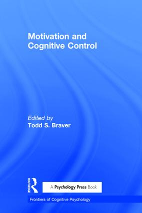 Motivation and Cognitive Control (Hardback) book cover
