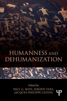 Humanness and Dehumanization (Paperback) book cover