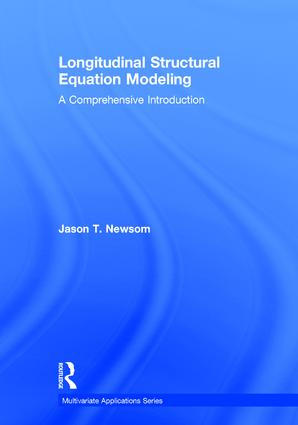 Longitudinal Structural Equation Modeling: A Comprehensive Introduction book cover