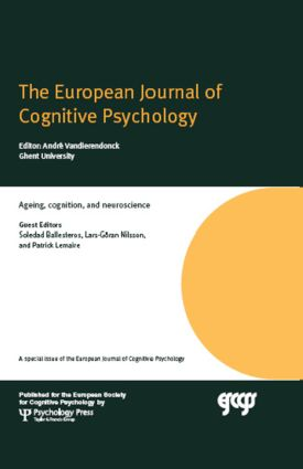 Ageing, Cognition, and Neuroscience: A Special Issue of the European Journal of Cognitive Psychology (Hardback) book cover