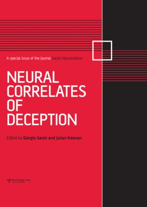 Neural Correlates of Deception: A Special Issue of Social Neuroscience (Hardback) book cover