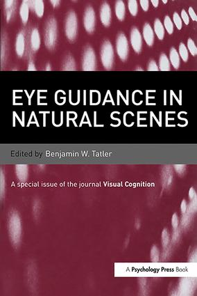 Eye Guidance in Natural Scenes: A Special Issue of Visual Cognition (Hardback) book cover