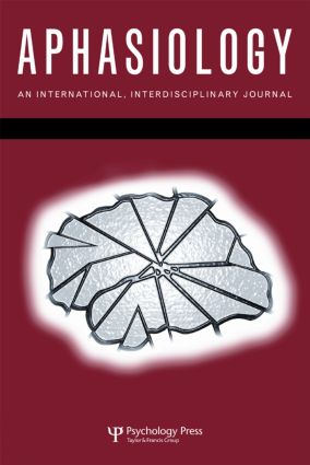 38th Clinical Aphasiology Conference: A Special Issue of Aphasiology (Paperback) book cover