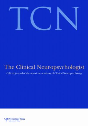 Advocacy in Neuropsychology: A Special Issue of the Clinical Neuropsychologist book cover