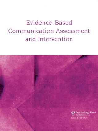 Teaching Evidence-Based Practice: A Special Issue of Evidence-Based Communication Assessment and Intervention (Paperback) book cover