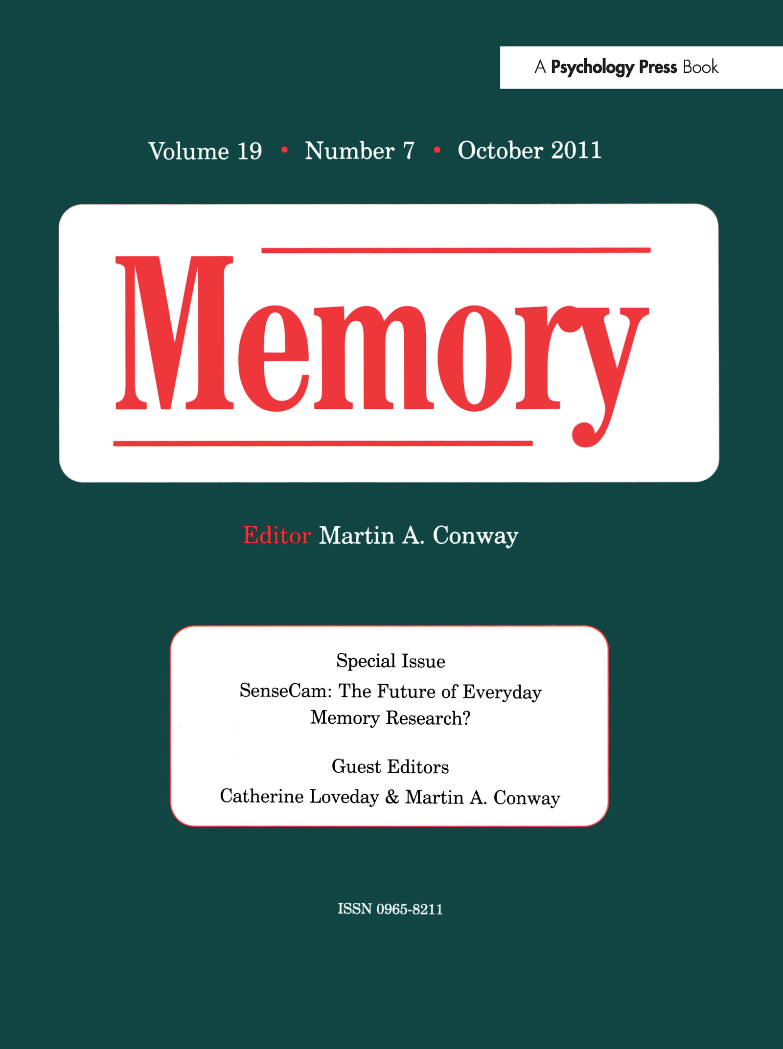 SenseCam: The Future of Everyday Memory Research? book cover