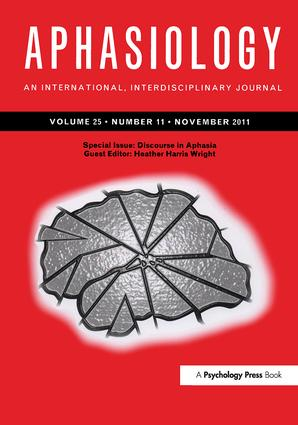 Discourse in Aphasia