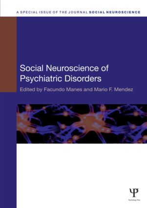 Social Neuroscience of Psychiatric Disorders (Hardback) book cover