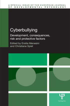 Cyberbullying: Development, Consequences, Risk and Protective Factors (Hardback) book cover