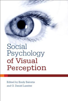 Social Psychology of Visual Perception (Hardback) book cover