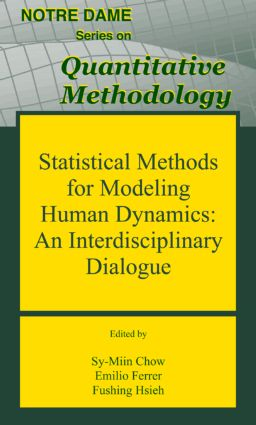 Statistical Methods for Modeling Human Dynamics