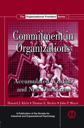 Commitment in Organizations: Accumulated Wisdom and New Directions (Hardback) book cover