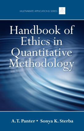 Handbook of Ethics in Quantitative Methodology book cover