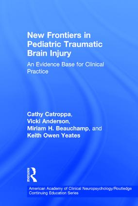 New Frontiers in Pediatric Traumatic Brain Injury: An Evidence Base for Clinical Practice book cover