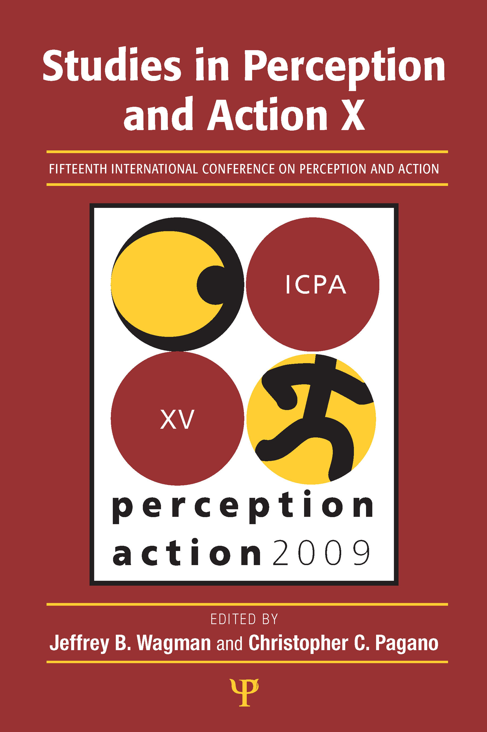 Studies in Perception and Action X: Fifteenth International Conference on Perception and Action (Paperback) book cover