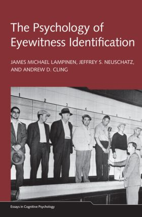 The Psychology of Eyewitness Identification (Hardback) book cover