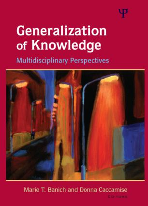 Generalization of Knowledge: Multidisciplinary Perspectives (Hardback) book cover