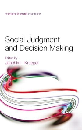 Social Judgment and Decision Making book cover