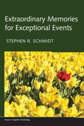 Extraordinary Memories for Exceptional Events (Hardback) book cover