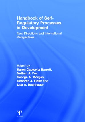 Handbook of Self-Regulatory Processes in Development: New Directions and International Perspectives book cover