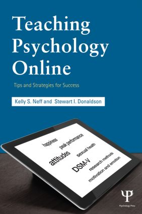 Teaching Psychology Online: Tips and Strategies for Success book cover