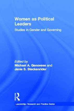 Women as Political Leaders: Studies in Gender and Governing book cover