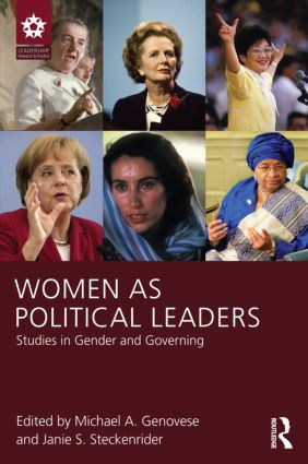 Women as Political Leaders: Studies in Gender and Governing (Paperback) book cover