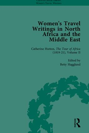Women's Travel Writings in North Africa and the Middle East, Part II book cover