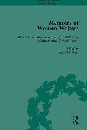 Memoirs of Women Writers, Part I (set)